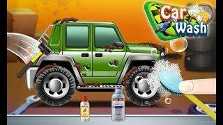 Car wash and repair kid game -simulator -