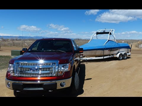2014 Ford F-150 CNG 0-60 MPH Towing Test: Gas vs Natural Gas Review