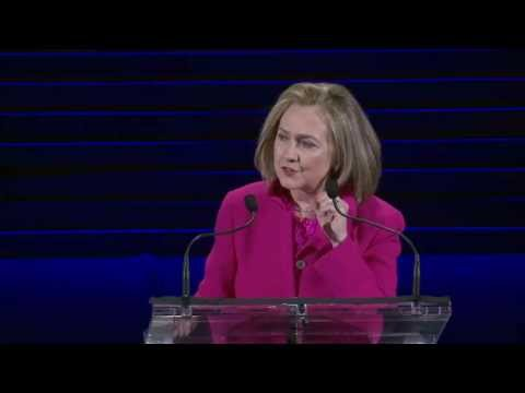 Hillary Rodham Clinton at the 2013 Women in the World Summit [HD]