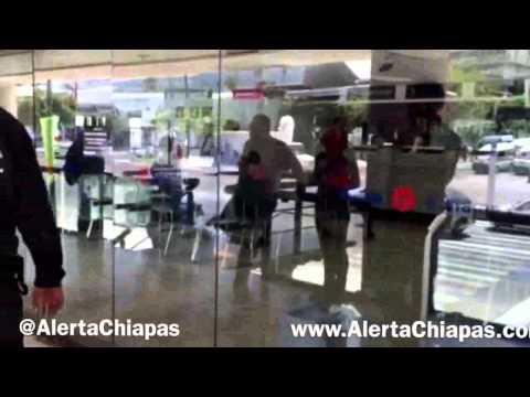 Asaltan banco banamex de plaza bonampak1 en tuxtla gutierrez