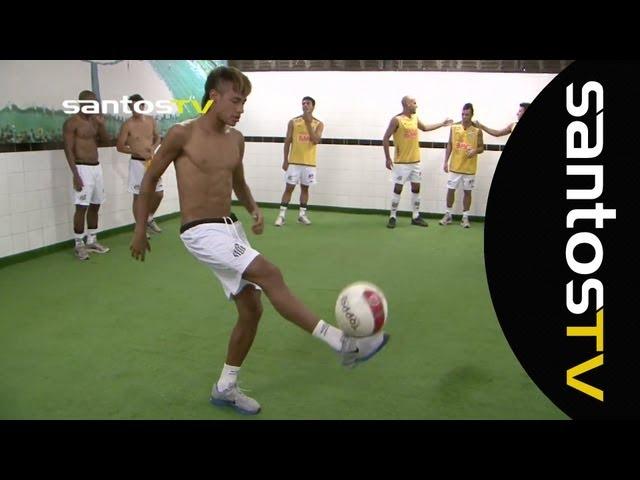Freestyle Ganso e Neymar