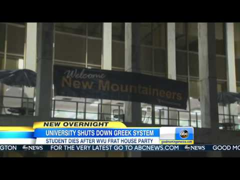 Student`s Death Prompts Fraternity Investigation