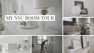 MY NEW YORK CITY ROOM TOUR | apartment tour (2018)