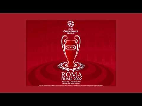 El himno de la Liga de Campeones de la UEFA impone más que nunca en las finales de Roma (minuto 0:07), Madrid (minuto 0:58) y Londres (minuto 1:49).