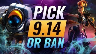 OP Pick or Bans for Every Role: Patch 9.14 Best Builds - League of Legends Season 9
