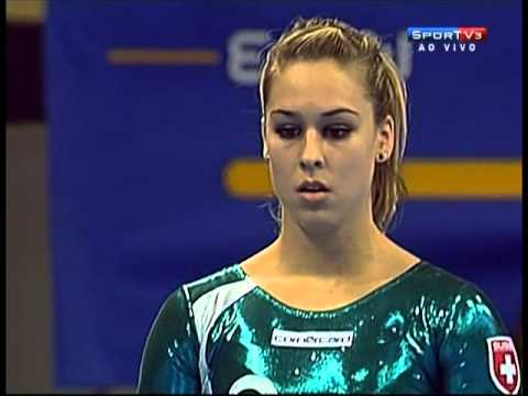 Giulia Steingruber (SUI) VT - Stuttgart 2012 All Around