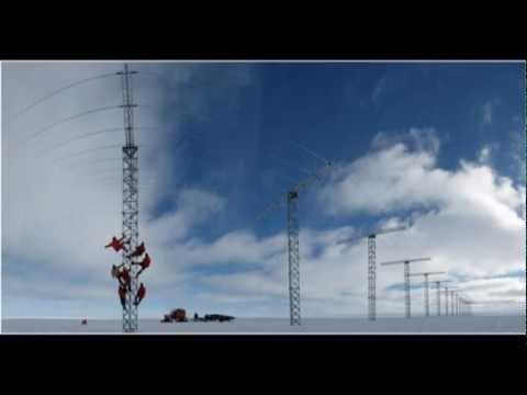 The British Antarctic Survey new research station 2013 Feb Halley VI