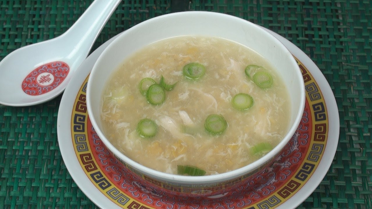 How to make Sweet Corn Soup  An Indian Chinese Version