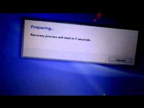 How to Recover Factory Settings on Sony Vaio Laptop with Windows 7