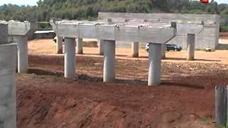 Construction of the Southern bypass in progress
