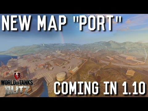 World Of Tanks Blitz News: NEW MAP!!