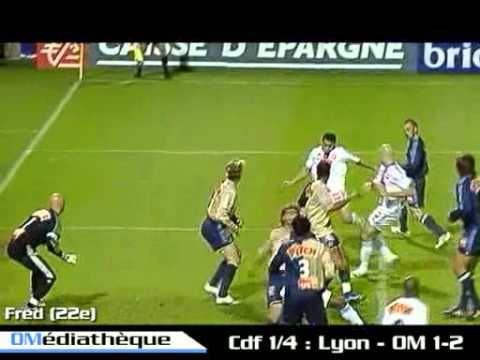 Coupe de France 2006 1/4 de finale : Lyon - OM (1-2)