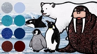 The Penguin Dance Party Dress Up Game | Sea Animals and Winter Animals help Penguin in Arctic