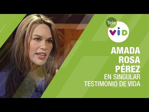 Testimonio De Vida Amada Rosa Pérez - Tele VID