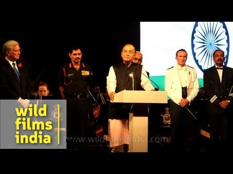 Defence Minister of India at Word War One Commemoration L 69 11