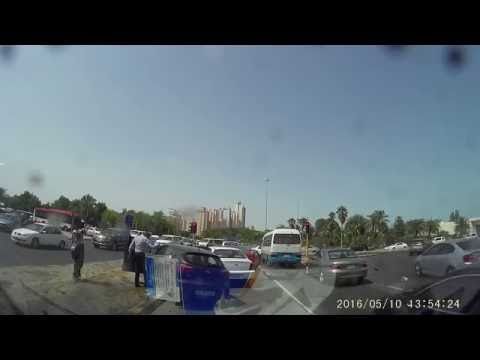crazy and unbelievable accident in kuwait