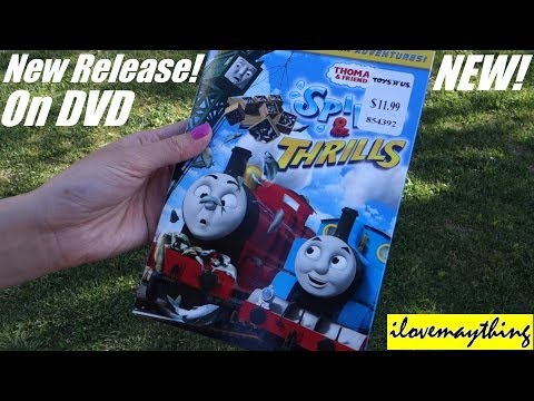 Thomas & Friends Spills & Thrills Dvd Unwrapping! video