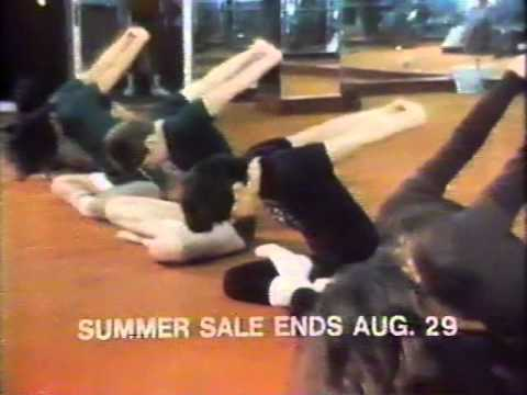 New York Health & Racquet Club 1980 TV commercial