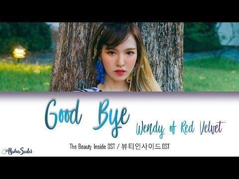 Wendy (웬디) Red Velvet - Goodbye 가사/Lyrics [Han|Rom|Eng] LYRIC VIDEO [OFFICIAL AUDIO] ON DESC