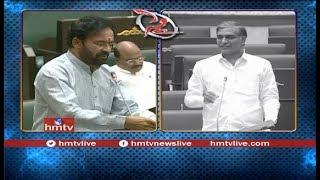 War Words Between Minister Harish Rao and Kishan Reddy Over Irrigation Projects  - hmtv - netivaarthalu.com