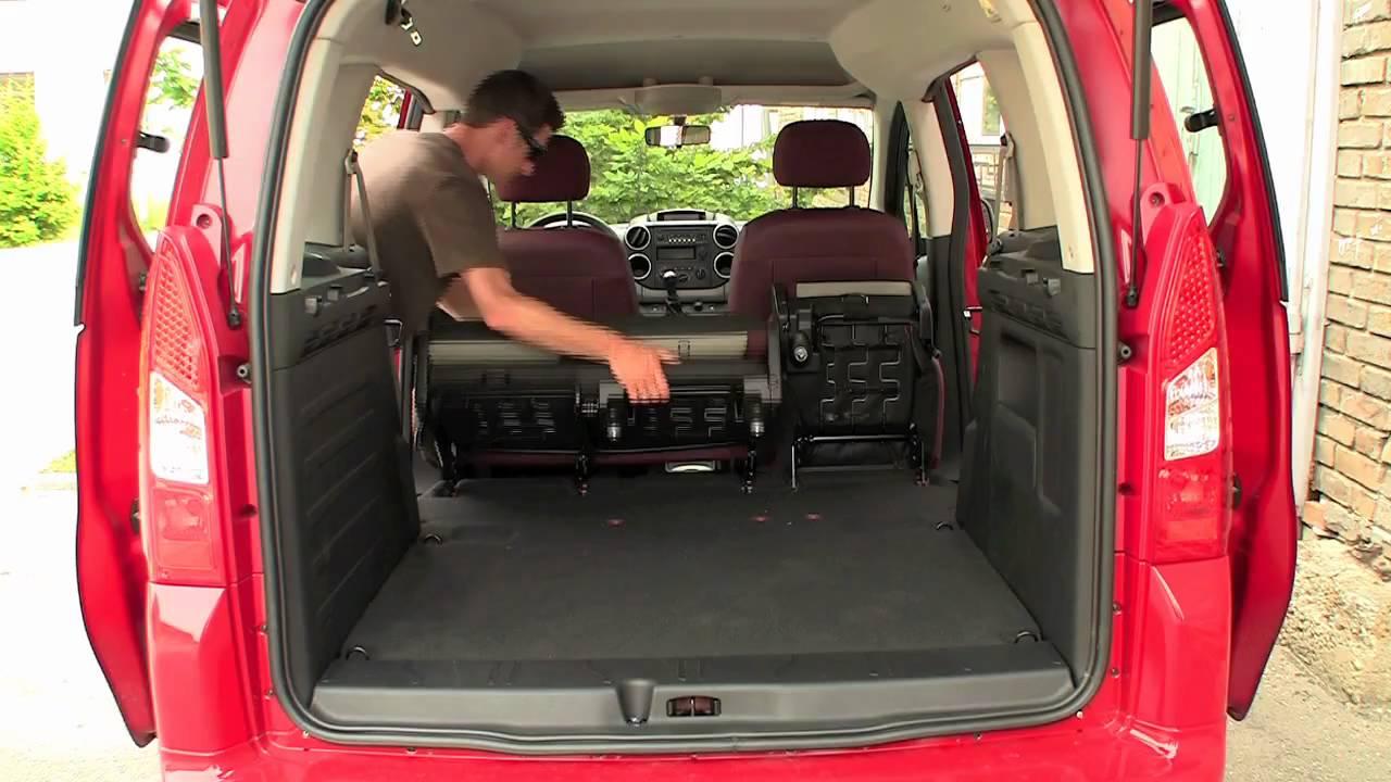Test Citroen Berlingo, Fiat Doblo, Renault Kangoo - YouTube