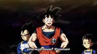 """Vegeta le dice a Kyabe: """"No me llames Maestro"""" DBS"""