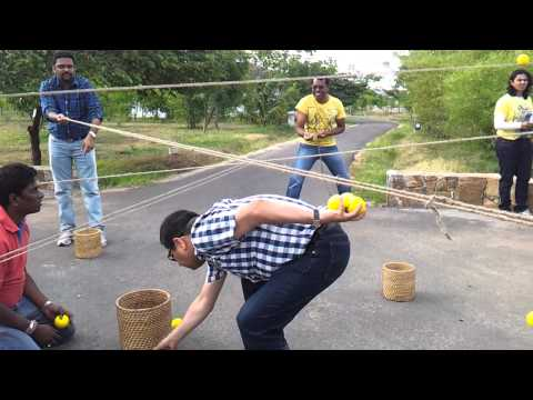 ▶ Ball Game With Ropes Team