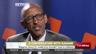 Talk Africa: Conversation With Kagame