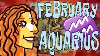 AVOID & OVERCOME 💟 AQUARIUS 💟 FEBRUARY 2017 Twin SOULMATE LOVE Tarot Astrology VALENTINES GIVEAWAY