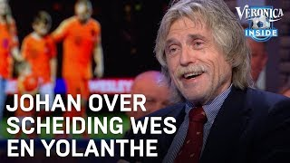 Johan over scheiding Wes en Yolanthe: 'Trouwen is kapitaalsvernietiging' | VERONICA INSIDE