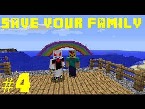 Minecraft Save Your Family #4 [ARABIC] ماينكرافت: أنقذ عائلتك #4