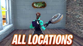 """Dance With A Fish Trophy at Different Named Locations"" FORTNITE MAP LOCATION"