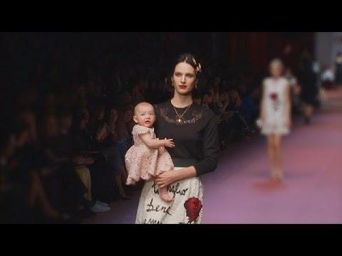 لباس جدید دولچه گابانا برای زنان باردار - le mag