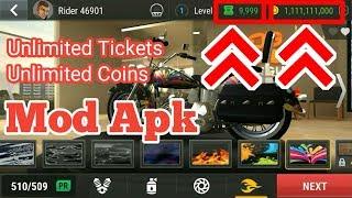 Racing Fever Moto v1.4.0   Unlimited Tickets   Unlimited Coins   Hack Mod Apk