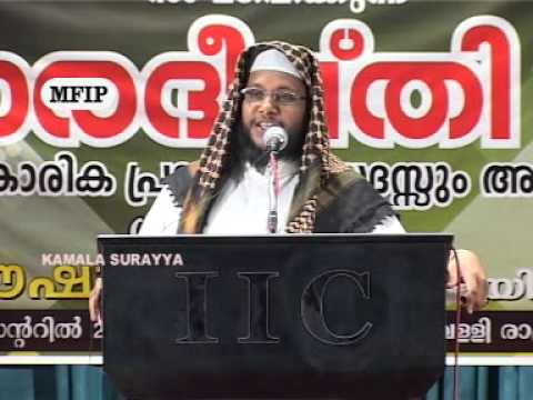 Noushad Baqavi New 2012 Speech Dubai Prabhashanam Part 1 Of 2 video