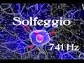 SOLFEGGIO: Frequencies (741 Hz) Said to help with Toxin Release, Solving Problems, Self Expression MP3