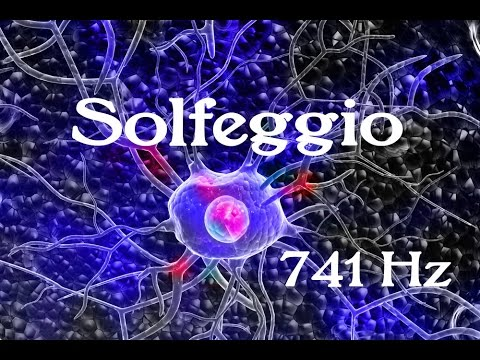SOLFEGGIO: Frequencies (741 Hz) Said to help with Toxin Release, Solving Problems, Self Expression