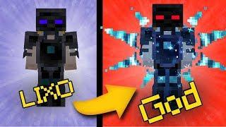 UPGRADE ARMADURA AVARITIA!! - Minecraft Infinito #47
