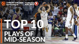 Turkish Airlines EuroLeague, Top 10 Plays of Mid-Season
