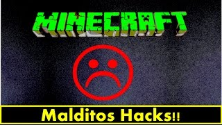 Minecraft SkyWars - Malditos Hacks!!