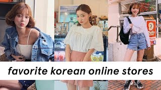 My Favorite Online Korean Clothing Stores / Websites ✨