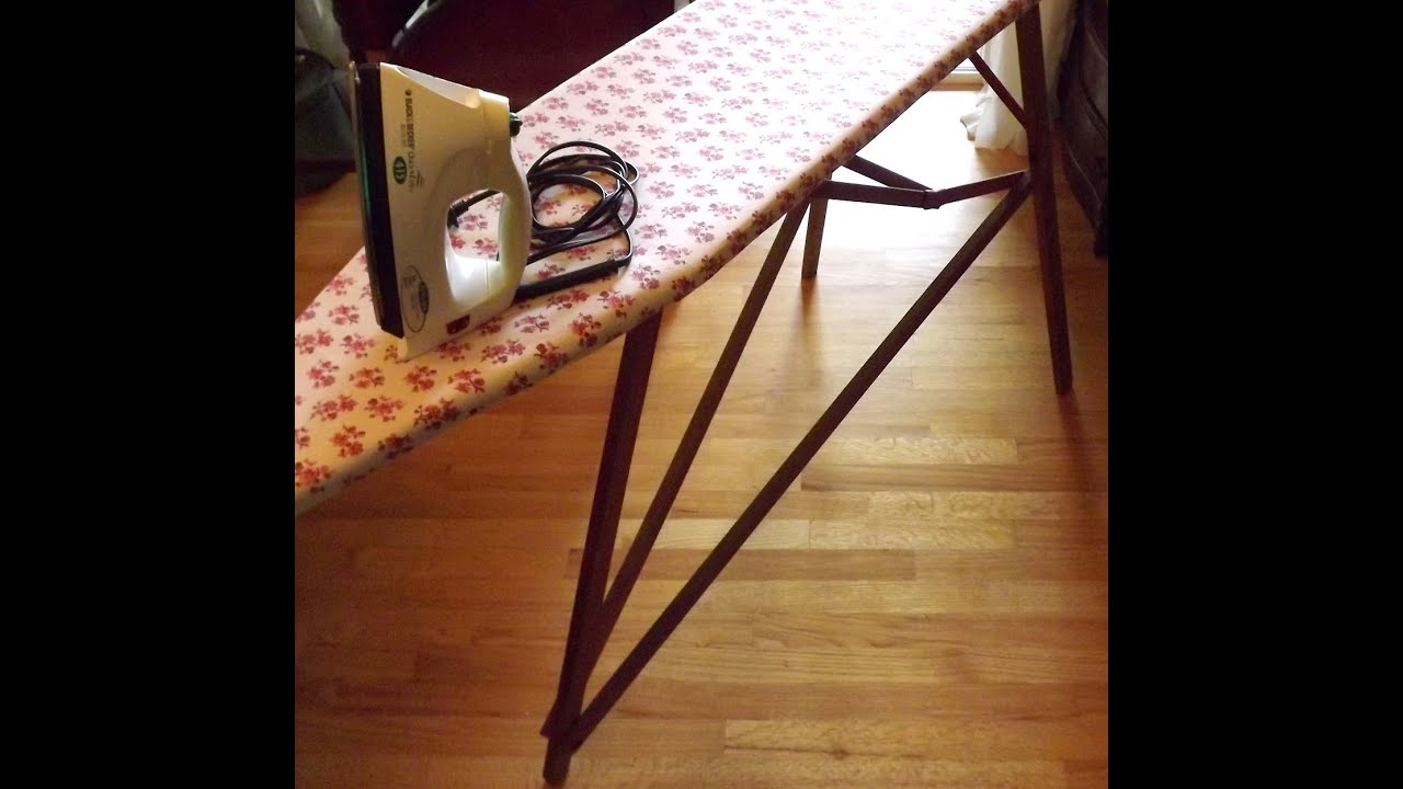 diy wooden ironing board images