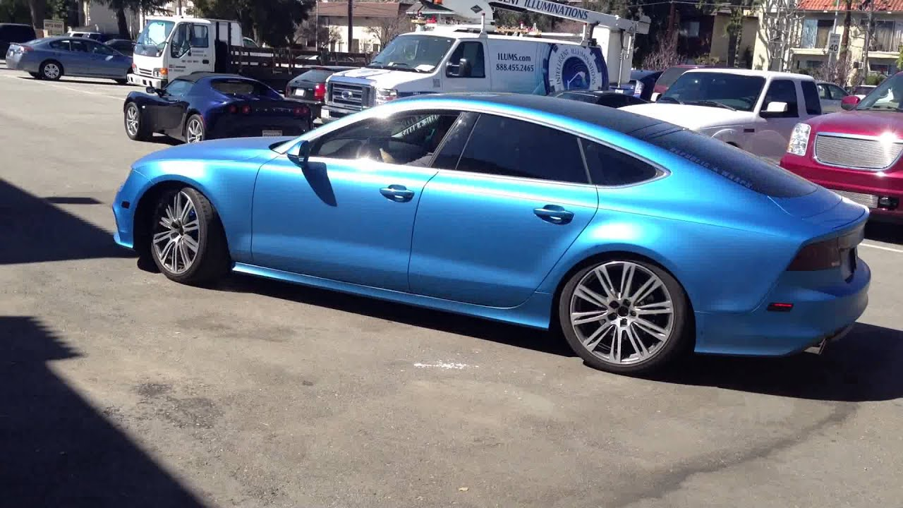 2013 Audi A7 Prestige With Fast Intentions Custom Exhaust