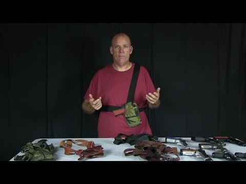 Quick Review on Shoulder Holsters