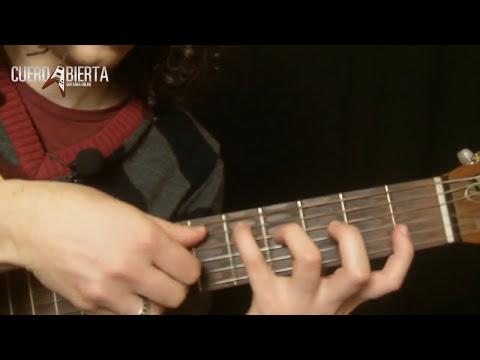 Aprende a tocar Bendita la Luz - Mana - Leccion de Guitarra Acustica