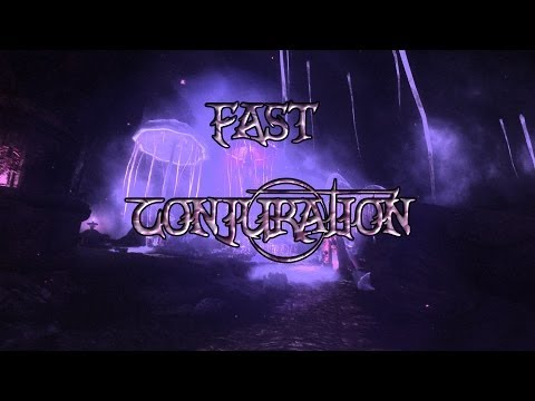 Skyrim how to level up conjuration fast
