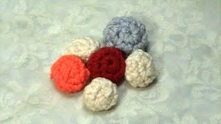 Learn How to Crochet little ball, Tutorial