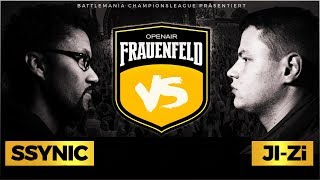 BMCL RAP BATTLE: JI-ZI VS SSYNIC (OPENAIR FRAUENFELD)