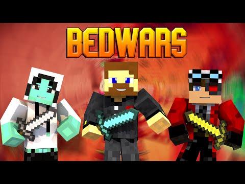 Minecraft Bed Wars #12 - План капкан или битва за центр