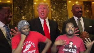Are Black Celebrities Cooning At Trump Tower?, Bishop Eddie Long Dies at 63, & Random Conversation